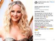 Publication de Jennifer Lawrence... (Capture d'écran d'Instagram) - image 6.0