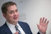 Le chef du Parti conservateur Andrew Scheer espère... (Photo David Boily, La Presse) - image 1.0