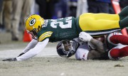 Odell Beckham (13) et Damarious Randall (23)... (Photo archives USA Today Sports) - image 2.1