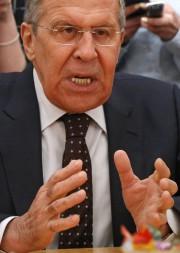 Le chef de la diplomatie russe, Sergueï Lavrov.... (AP) - image 3.0