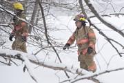 Les pompiers de Montréal sont présents.... (Photo PATRICK SANFACOn, la presse) - image 2.1