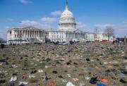 7000 paires de chaussures avaient été déposées mardi... (AFP) - image 2.0