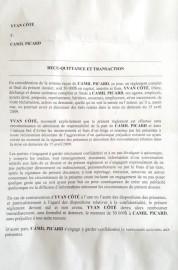 La Presse a obtenu la quittance signée par... (PHOTO LA PRESSE) - image 3.0