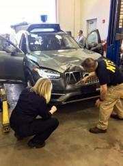 La collision impliquantElaine Herzberg et une voiture autonome... (photo associated press) - image 1.0