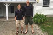 Travis «Finn» et John «Thor» Sindewald, frères de... (photo fournie par Travis et John Sindewald) - image 18.0
