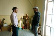 Martin Brault, président d'Inno-3B, discute avec Nathan De... (PHOTO Martin Chamberland, LA PRESSE) - image 1.0