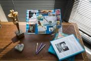 Le bureau de Louise Portal... (PhotoIVANOH DEMERS, LA PRESSE) - image 1.0