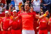Rafael Nadal a remporté sa 24evictoire d'affilée à... (PHOTO HEINO KALIS, REUTERS) - image 2.0