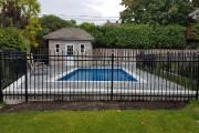 Le plan devra nécessairement comprendre l'installation d'une clôture,... (Photo fournie par Piscines Val-Morin Signature) - image 8.0
