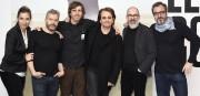 Une partie de l'équipe du MAC et Bono.... (Photo fournie par le Musée d'art contemporain) - image 2.0