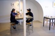Le lieu est très épuré. Des tables en... (Photo Martin Chamberland, La Presse) - image 3.0