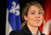 La ministre du Patrimoine canadien, Mélanie Joly... (PHOTO ARCHIVES LE SOLEIL) - image 1.0