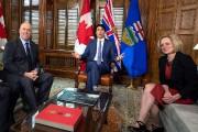 Le premier ministre de la Colombie-Britannique John Horgan,... (PHOTO Justin Tang, LA PRESSE CANADIENNE) - image 1.0