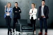 Les dragons de la 7e saison:Caroline Néron, Martin-Luc... (Photo fournie par ICI Radio-Canada Télé) - image 1.0