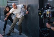 Une scène du film Rampage, avec Naomie Harris... (Photo fournie par Warner Bros.) - image 2.0