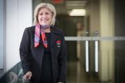 Louise Lefebvre travaille chez Air Transat depuis 1987.... (PHOTO PATRICK SANFAÇON, LA PRESSE) - image 1.0