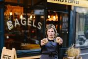 Larah Brosssemble avoir fait son nid à Édimbourg,... (Photo fournie par Bross Bagels) - image 2.0