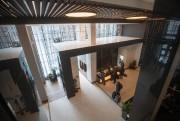 Les aires communes du AC Marriott Montréal, du... (Photo Ivanoh Demers, La Presse) - image 3.0