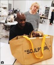 En juin dernier, Virgil Abloh avait proposé sa... (Photo tirée du compte Instagram IKEA Today) - image 1.0