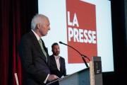 André Desmarais,président du conseil d'administration deLa Presseet président... (Photo Hugo-Sébastien Aubert, La Presse) - image 2.0