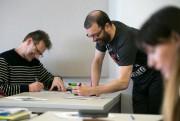 Luc Boily et Christian Vanasse enseignent le cours... (Photo François Roy, La Presse) - image 2.0