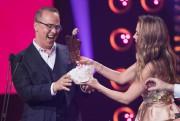 Gino Chouinard a reçu un trophée Artis trempé... (PHOTO OLIVIER JEAN, LA PRESSE) - image 2.0