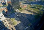 Le parc sera situéen face de la Tour... (Photo André Pichette, La Presse) - image 1.0