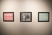Des oeuvres de la série Abolish Borders de... (Photo Ivanoh Demers, La Presse) - image 3.0