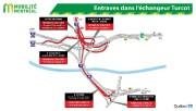 Entraves à l'autoroute 15 et l'échangeur Turcot... (Image tirée du site du ministère des Transports) - image 1.0