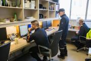 Les pilotes Tristan Lavenir et Jocelyn Turmel dans... (Photo Martin Tremblay, La Presse) - image 1.0