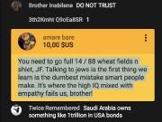 Un internaute a offert 10$ à Jean-François Gariépy... (Saisie d'écran de YouTube) - image 1.0