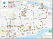 Le Tour de l'île de Montréal entraînera la... (IMAGE FOURNIE PAR VÉLO QUÉBEC) - image 1.0
