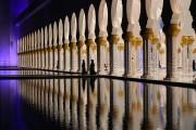 La grande mosquée Sheikh Zayed, à Abou Dhabi,... (Photo archives AFP) - image 3.0