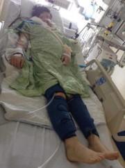 Maina Aculiak a passé un mois aux soins... (PHOTO FOURNIE PAR LA FAMILLE) - image 2.0
