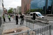 La présence policière est très présente dans la... (Martin Tremblay, La Presse) - image 2.0