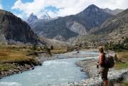 Kellie Nadeaulors d'un trek au Népal... (Photo fournie par Kellie Nadeau) - image 2.0