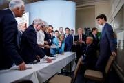 La photo publiée par le bureau du premier... (REUTERS) - image 4.0