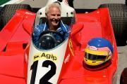 Jacques Villeneuvedansla Ferrari312T3 de son père Gilles.... (PHOTO BERNARD BRAULT, LA PRESSE) - image 1.0