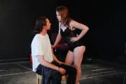 La pièceSARAraconte l'histoired'unestreapteaseuse et slameuse qui tente de... (Photo Martin Chamberland, La Presse) - image 2.0