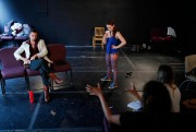 Les comédiens Florent Deschenes etMagalie Rouillard en répétition... (Photo Martin Chamberland, La Presse) - image 3.0