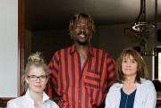 MachaGrenon et PierreKwenders, avec la directrice artistique du... (Photo EdouardPlante-Fréchette, La Presse) - image 2.0