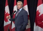 Le premier ministre deTerre-Neuve-et-LabradorDwight Ball... (PHOTO Andrew Vaughan, LA PRESSE CANADIENNE) - image 1.0