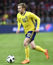 Emil Forsberg... (Photo Jonathan Nackstrand, archives AFP) - image 3.0