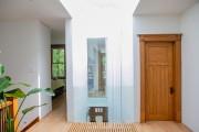 En haut de l'escalier, la passerelle de lattis... (Photo David Boily, La Presse) - image 2.0
