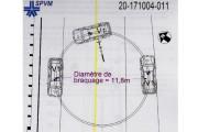 L'automobiliste a dirigé son véhicule vers l'accotement pour... (Image tirée du Rapport d'investigation du coroner) - image 1.0