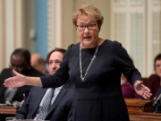 Pauline Marois... (photo Jacques Boissinot, archives la presse canadienne) - image 1.0