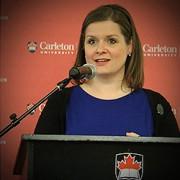 Stephanie Carvin,professeure adjointe d'affaires internationales à l'Université Carleton... (Photo tirée du site internet de l'Université Carleton) - image 1.0