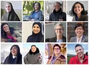 Mosaïque des 12 femmes qui participent au projet... (Photo fournie par Aquil Virani) - image 2.0