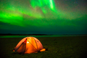 Parc national Tursujuq... (Photo : TQ - A Poulin, Facing waves) - image 2.0