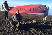 Zoheir Ferdjioui au sommet du Kilimandjaro, en Tanzanie,... (Photo : Collection personnelle Zoheir Ferdjioui & Amel Tnani) - image 2.0